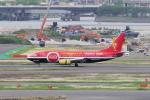 yabyanさんが、羽田空港で撮影したタイタン エアウェイズ 737-33A(QC)の航空フォト(飛行機 写真・画像)