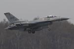 nob24kenさんが、千歳基地で撮影したアメリカ空軍 F-16CM-50-CF Fighting Falconの航空フォト(写真)