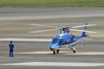 鈴鹿@風さんが、名古屋飛行場で撮影した日本デジタル研究所(JDL) A109E Powerの航空フォト(写真)