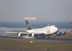 タミーさんが、中部国際空港で撮影したタイ国際航空 747-3D7の航空フォト(写真)