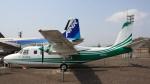 Cassiopeia737さんが、但馬飛行場で撮影した共立航空撮影 680FL Grand Commanderの航空フォト(写真)