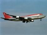 エルさんが、成田国際空港で撮影したノースウエスト航空 747-451の航空フォト(写真)