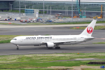 yabyanさんが、羽田空港で撮影した日本航空 767-346/ERの航空フォト(写真)