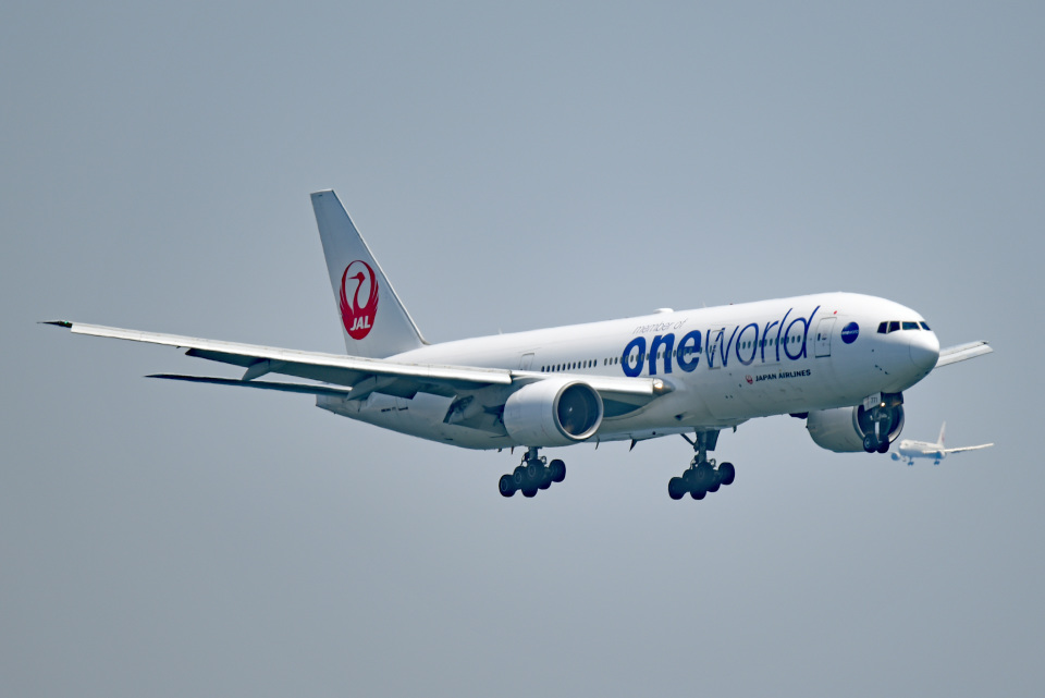 tsubasa0624さんの日本航空 Boeing 777-200 (JA771J) 航空フォト
