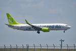 tsubasa0624さんが、羽田空港で撮影したソラシド エア 737-81Dの航空フォト(飛行機 写真・画像)