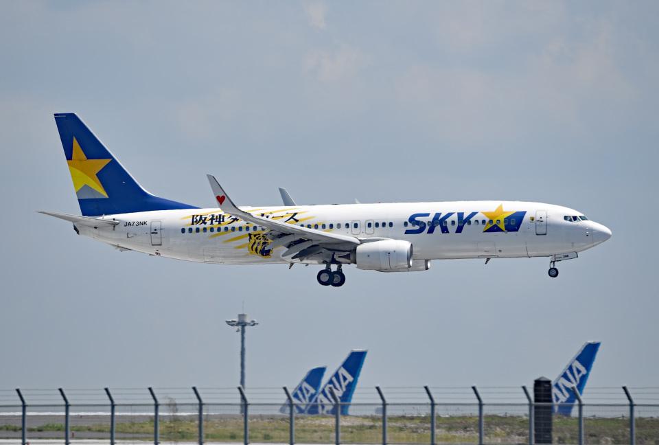 tsubasa0624さんのスカイマーク Boeing 737-800 (JA73NK) 航空フォト