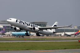 MOHICANさんが、福岡空港で撮影したフィンエアー A330-302Xの航空フォト(写真)