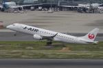 yabyanさんが、羽田空港で撮影したジェイ・エア ERJ-190-100(ERJ-190STD)の航空フォト(飛行機 写真・画像)