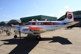 航空フォト:JA5111 宇宙航空研究開発機構 Queen Air