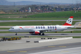 pringlesさんが、ウィーン国際空港で撮影したオーストリア航空 A321-111の航空フォト(飛行機 写真・画像)