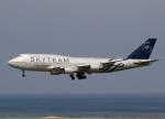voyagerさんが、那覇空港で撮影したチャイナエアライン 747-409の航空フォト(飛行機 写真・画像)