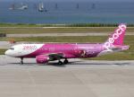 voyagerさんが、那覇空港で撮影したピーチ A320-214の航空フォト(飛行機 写真・画像)
