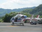 ランチパッドさんが、静岡ヘリポートで撮影した朝日新聞社 MD 900/902の航空フォト(写真)