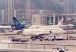 JA8037さんが、啓徳空港で撮影したガルーダ・インドネシア航空 MD-11の航空フォト(写真)