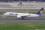 yabyanさんが、羽田空港で撮影したスカイマーク 737-81Dの航空フォト(写真)