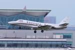 yabyanさんが、羽田空港で撮影した中日本航空 560 Citation Vの航空フォト(飛行機 写真・画像)