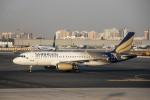 xingyeさんが、ドバイ国際空港で撮影したシャヒーン・エア A320-232の航空フォト(写真)