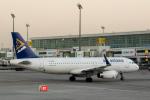 xingyeさんが、ドバイ国際空港で撮影したエア・アスタナ A320-232の航空フォト(写真)