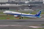 yabyanさんが、羽田空港で撮影した全日空 A321-211の航空フォト(写真)