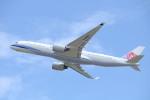 水月さんが、関西国際空港で撮影したチャイナエアライン A350-941XWBの航空フォト(写真)