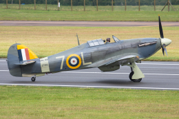 Tomo-Papaさんが、フェアフォード空軍基地で撮影したイギリス企業所有 Sea Hurricane Mk1Bの航空フォト(飛行機 写真・画像)