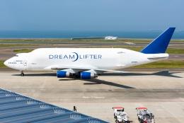Photo : T.Nakanishiさんが、中部国際空港で撮影したボーイング エアクラフト ホールディング カンパニー 747-4B5(BCF)の航空フォト(飛行機 写真・画像)