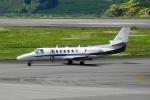 せせらぎさんが、静岡空港で撮影した岡山航空 560 Citation Ultraの航空フォト(写真)