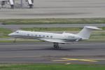 yabyanさんが、羽田空港で撮影したウィルミントン・トラスト・カンパニー G500/G550 (G-V)の航空フォト(飛行機 写真・画像)