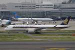 yabyanさんが、羽田空港で撮影したシンガポール航空 A350-941の航空フォト(飛行機 写真・画像)
