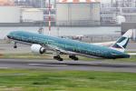 yabyanさんが、羽田空港で撮影したキャセイパシフィック航空 777-367/ERの航空フォト(写真)