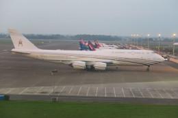 職業旅人さんが、スカルノハッタ国際空港で撮影したブルネイ政府 747-8LQ(BBJ)の航空フォト(飛行機 写真・画像)