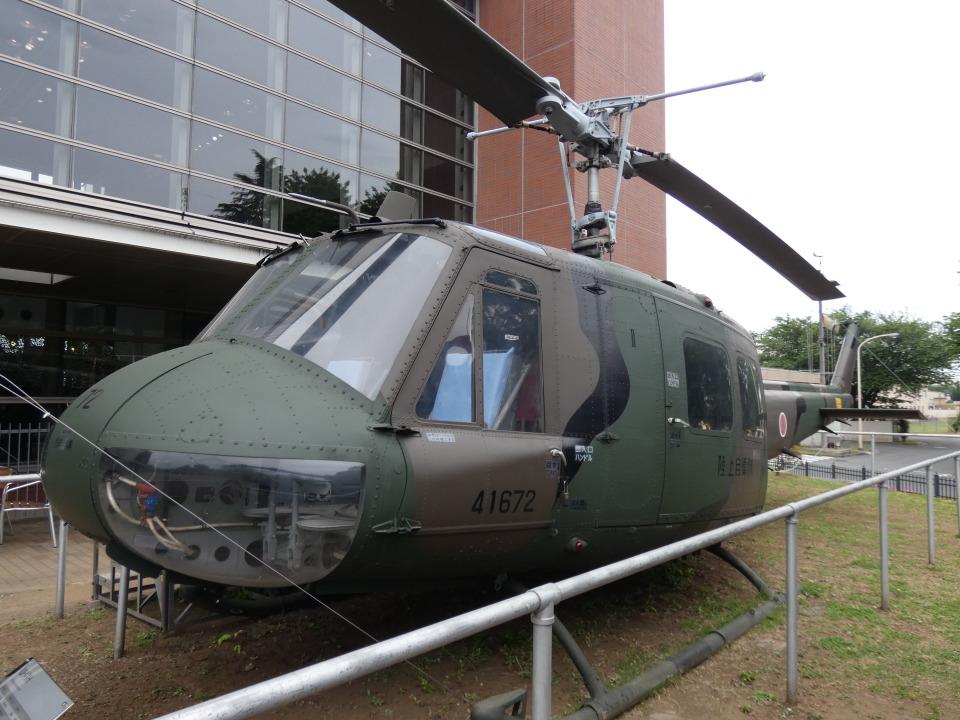 ユターさんの陸上自衛隊 Fuji UH-1H (41672) 航空フォト