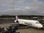やーまんさんが、ダニエル・K・イノウエ国際空港で撮影したハワイアン航空 717-26Rの航空フォト(写真)