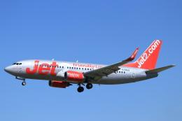 ぽっぽさんが、バルセロナ空港で撮影したジェット・ツー 737-377の航空フォト(飛行機 写真・画像)