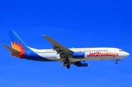 ぽっぽさんが、マルタ国際空港で撮影したジェット・ツー 737-804の航空フォト(飛行機 写真・画像)