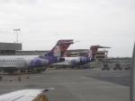 やーまんさんが、ダニエル・K・イノウエ国際空港で撮影したハワイアン航空 717-2BLの航空フォト(飛行機 写真・画像)
