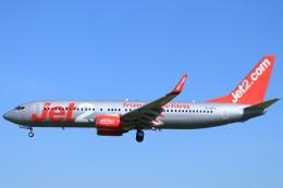 ぽっぽさんが、バルセロナ空港で撮影したジェット・ツー 737-8K5の航空フォト(飛行機 写真・画像)