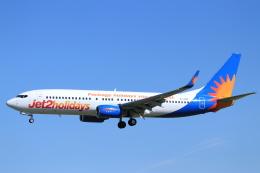 ぽっぽさんが、バルセロナ空港で撮影したジェット・ツー 737-8K2の航空フォト(飛行機 写真・画像)