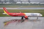kumagorouさんが、仙台空港で撮影したベトジェットエア A321-271Nの航空フォト(飛行機 写真・画像)