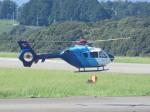 ランチパッドさんが、静岡空港で撮影した中日新聞社 EC135P2の航空フォト(写真)