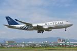 チーフさんが、福岡空港で撮影したチャイナエアライン 747-409の航空フォト(写真)