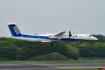tsubasa0624さんが、成田国際空港で撮影したANAウイングス DHC-8-402Q Dash 8の航空フォト(飛行機 写真・画像)