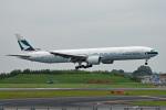 tsubasa0624さんが、成田国際空港で撮影したキャセイパシフィック航空 777-367/ERの航空フォト(飛行機 写真・画像)
