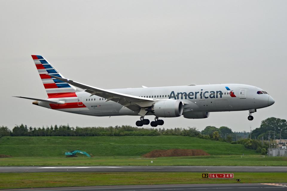 tsubasa0624さんのアメリカン航空 Boeing 787-8 Dreamliner (N819AN) 航空フォト