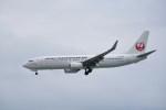 kumagorouさんが、那覇空港で撮影した日本トランスオーシャン航空 737-8Q3の航空フォト(写真)