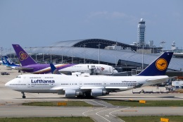 航空フォト:D-ABVW ルフトハンザドイツ航空 747-400
