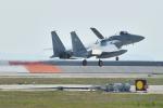 ばとさんが、岩国空港で撮影した航空自衛隊 F-15J Eagleの航空フォト(写真)