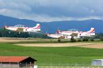 Tomo-Papaさんが、ミリテール・ド・ペイエルヌ飛行場で撮影したクロアチア空軍 PC-9Mの航空フォト(写真)