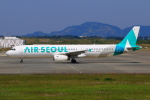 Eckkyさんが、静岡空港で撮影したエアソウル A321-231の航空フォト(写真)