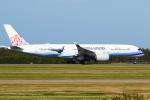 Jinxさんが、ブリスベン空港で撮影したチャイナエアライン A350-941XWBの航空フォト(写真)